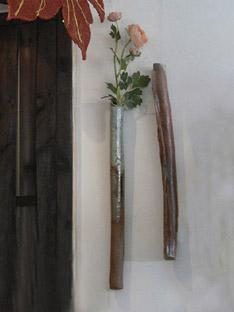 Vases bâton; pour murs végétaux...