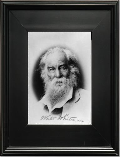 Walt Whitman 1919-1892