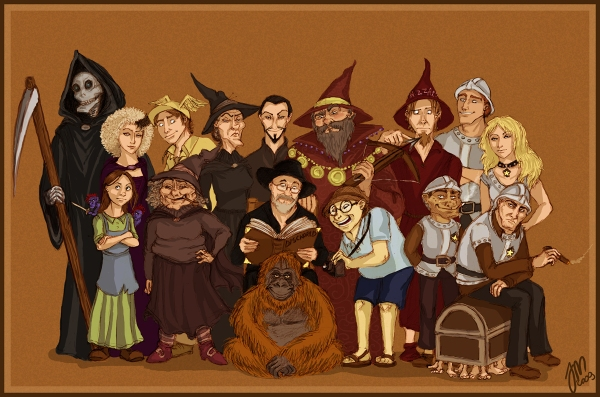 Discworld_characters_by_yenefer