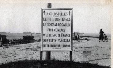 LE-14-JUIN-1944-LE-GENERAL-DE-GAULLE-