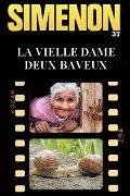 Simenon Georges - La vielle dame de Bayeux - Bartho34200