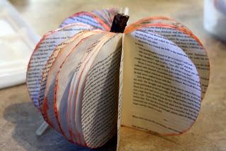 Citrouille en papier