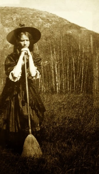Women in Witch Costumes, circa 1800s (3)