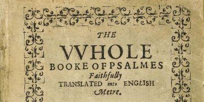 UN RECUEIL DE PSAUMES DE 1640 est devenu le livre le plus cher dumonde…