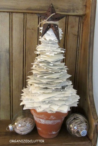 BookPageChristmasTree