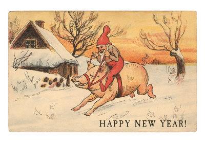 happy-new-year-elf-riding-pig