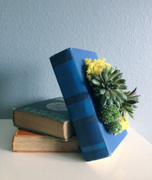 Upcycled-Book-Planter-620x736