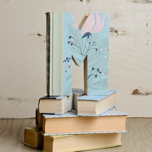 Vintage-Hand-Carved-Letter-Books