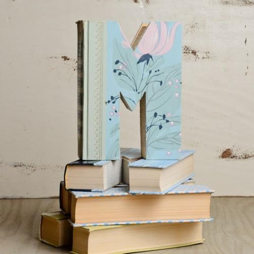 Vintage-Hand-Carved-Letter-Books