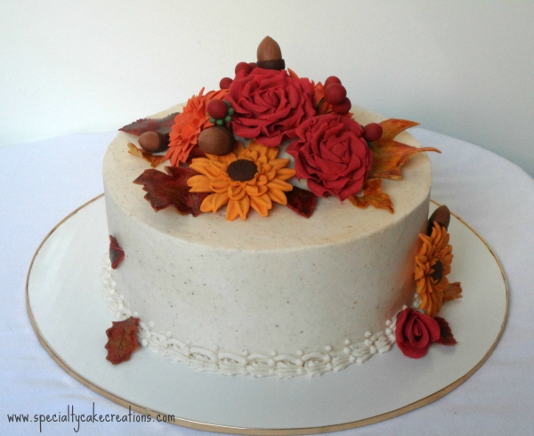 Fall-Bouquet-Cake
