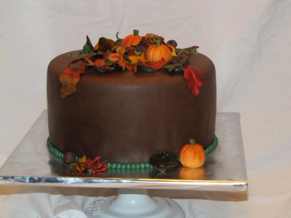 fall+chocolate+cake