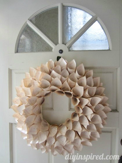 recycled-book-page-wreath-tutorial-2