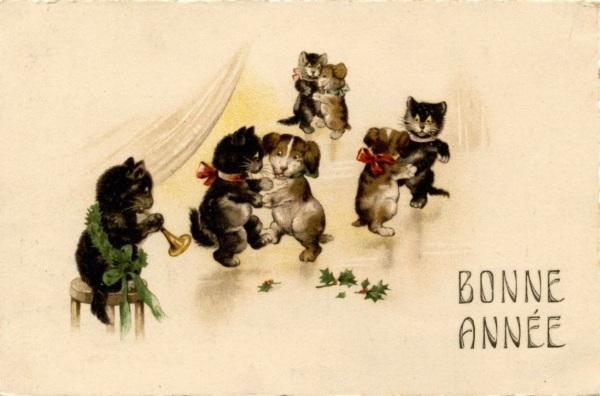 Bonne+annee+chats+