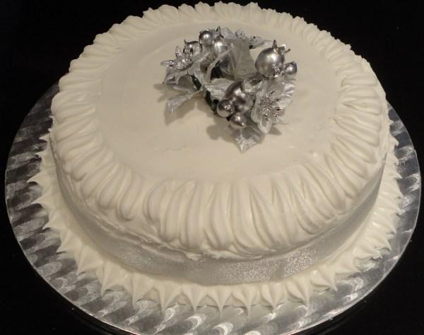Élégant-gâteau-de-Noël
