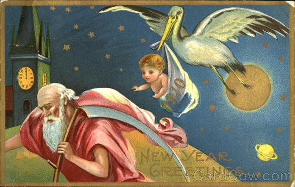 1910 New Year Greetings