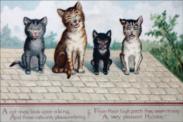 cats-and-poem-on-vintage-Ne