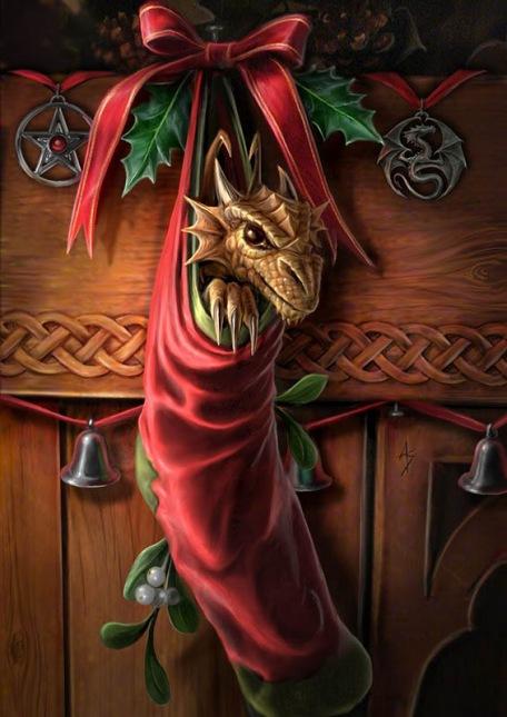 dragon+stocking