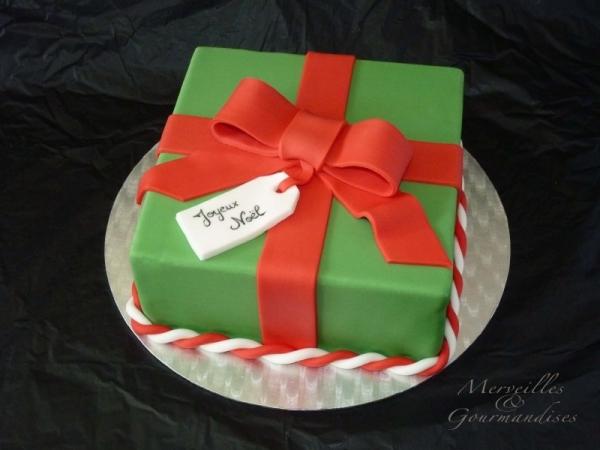 gateau-noel-cadeau