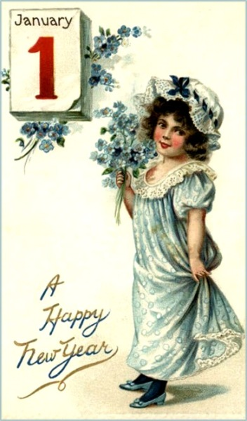new-year-cards-flower-girl-first-of-january