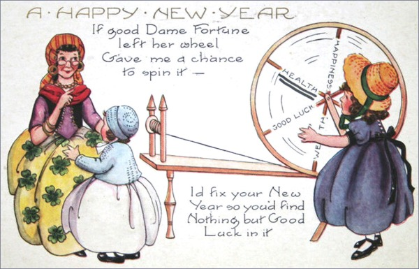 new-year-cards-poem-dame-fortune-wheel