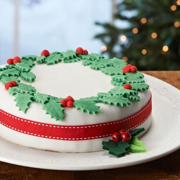 photo-idée-décoration-gâteau-noel