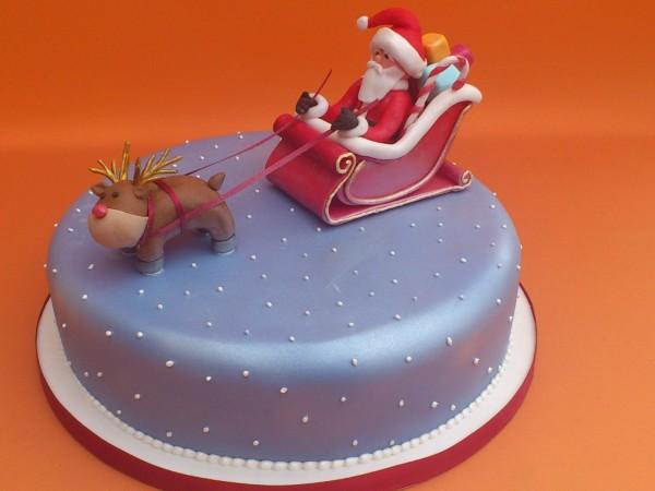 santa-rudolph-sleigh-novelty-christmas-cake-sponge-fruit-poole-dorset-1600x1200