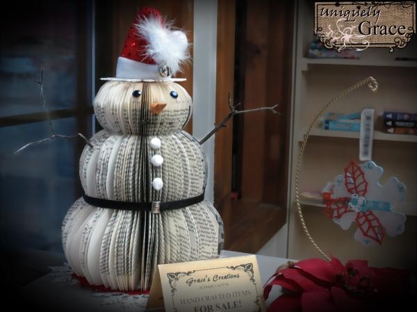 Santa+12+inch+book+page+snowman+Helmar+L+Grace+Lauer