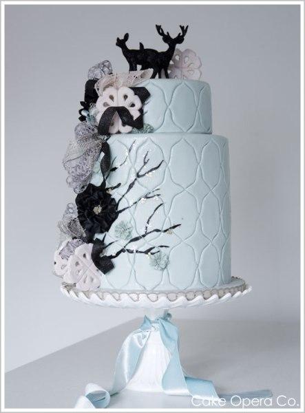 winter_deer_cake