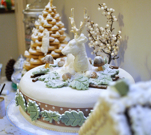winter+wonderland+cake