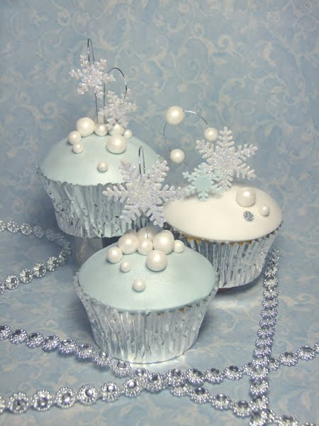 Winter+Wonderland+Cupcakes
