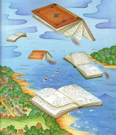 flying-books-looking-readers-ilustracic3b3n-de-chi-chung