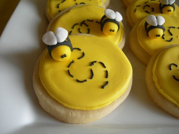 bee+sugar+cookies