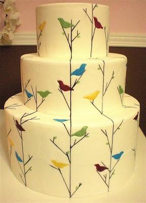 bird+cake