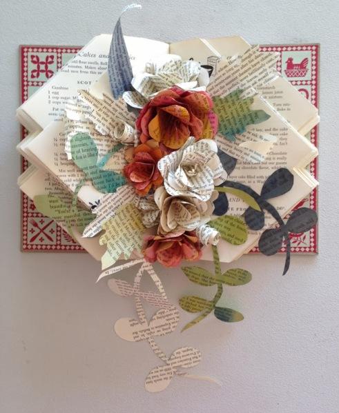 Book+Art+Flowers