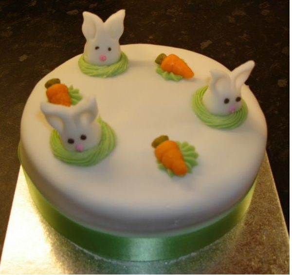 Bunnies+easter+cake+pics
