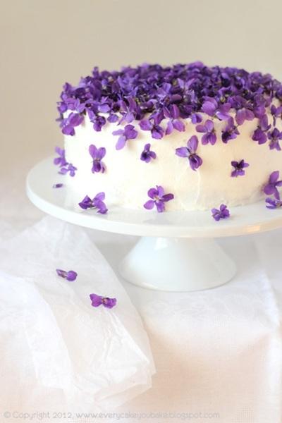 cake_love_pretty_spring_violets