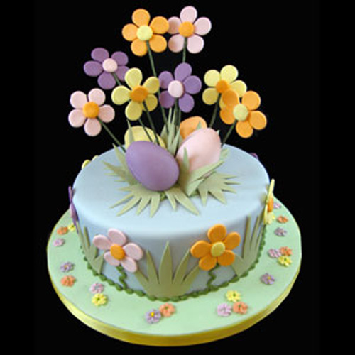 Easter-Cake-Design-Flower-Explosion