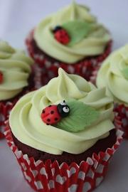 Ladybird Cupcakes small