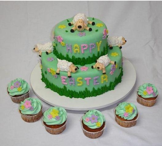 lamb+easter+cake