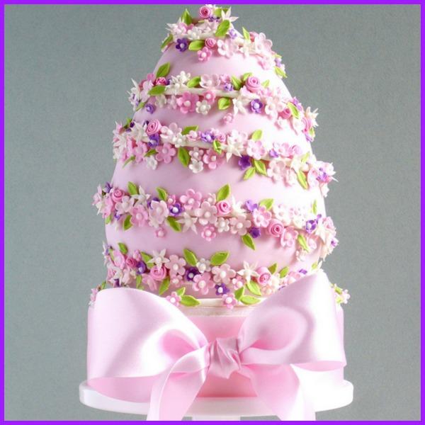 pink-easter-egg-cake