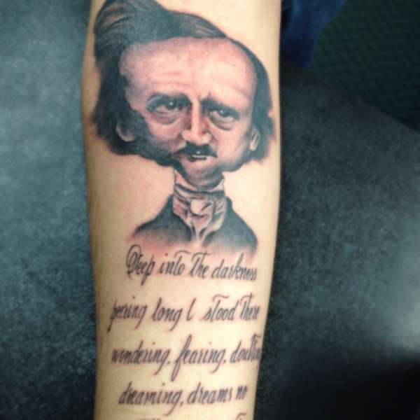 Abstract-Edgar-Alan-Poe-portrait-tattoo-149737
