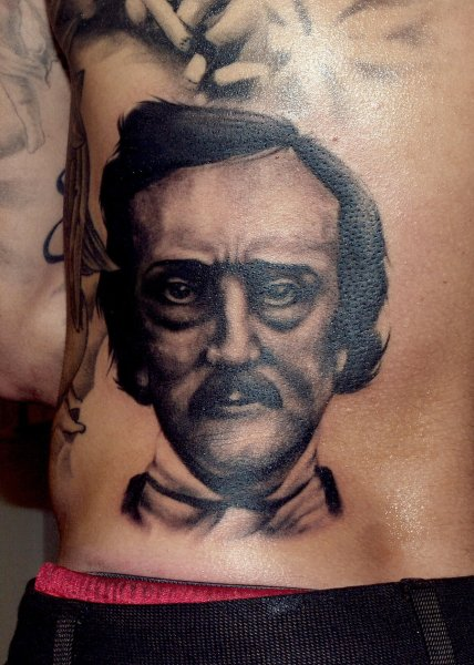 edgar_allan_poe_tattoo_by_bluehyper-d446yep