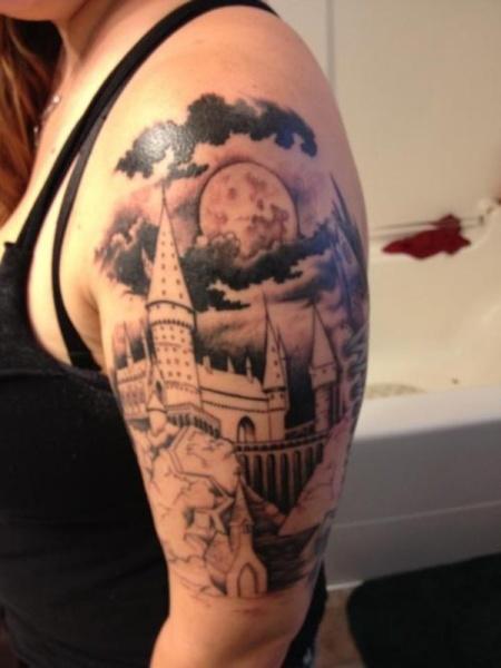 Hogwarts-Tattoo