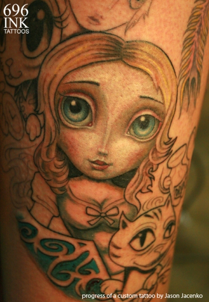 progress_pic_alice_in_wonderland_tattoo_by_jasonjacenko-d5gqbik