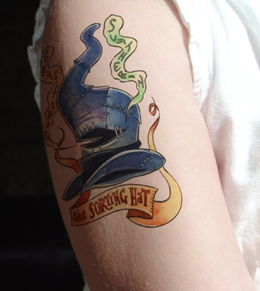 The_Sorting_Hat_tattoo