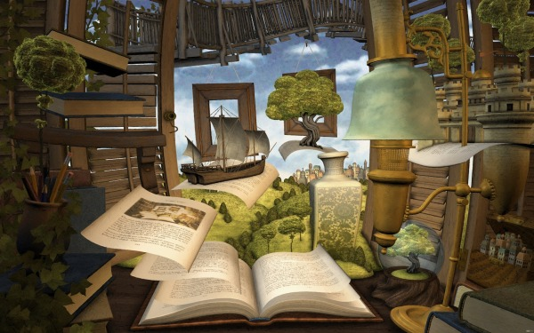lost_book_nvidia_art_reading_abstract_hd-wallpaper-252339