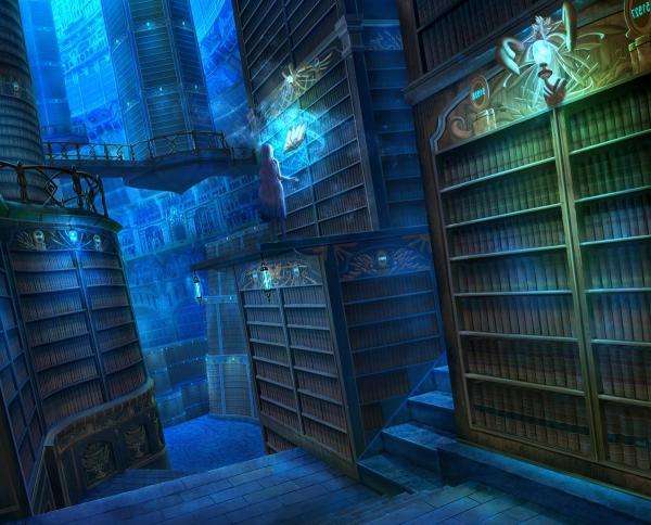 magical_library_fantasy_orginal_girl_books_hd-wallpaper-1893920