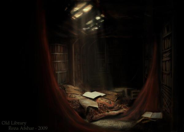 old_library_by_forozan