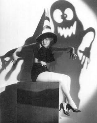 Halloween Pinup Girl Boo