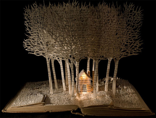 house-in-wood-in-book-art